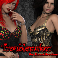 Troublemaker for Heartbreaker Clothing Themed FrozenStar