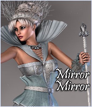 Mirror Mirror on the Wall 3D Figure Assets RPublishing