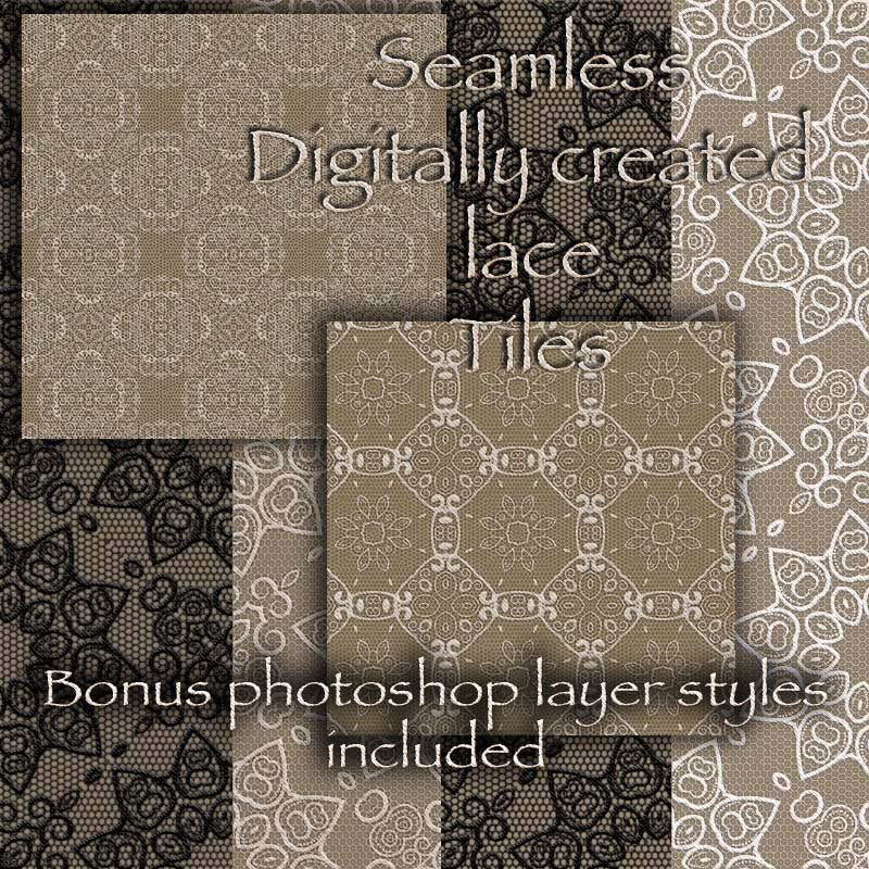 Antje's Digital Lace Overlays