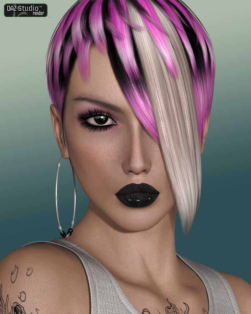 FWs Styles for Diamond Hair by Valea