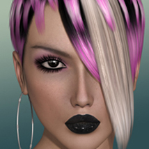 FWs Styles for Diamond Hair by Valea Hair Themed FWArt