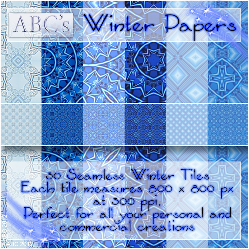 ABC Winter Paper