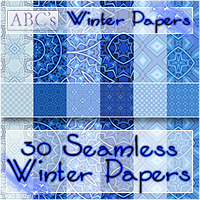 ABC Winter Paper  Bez