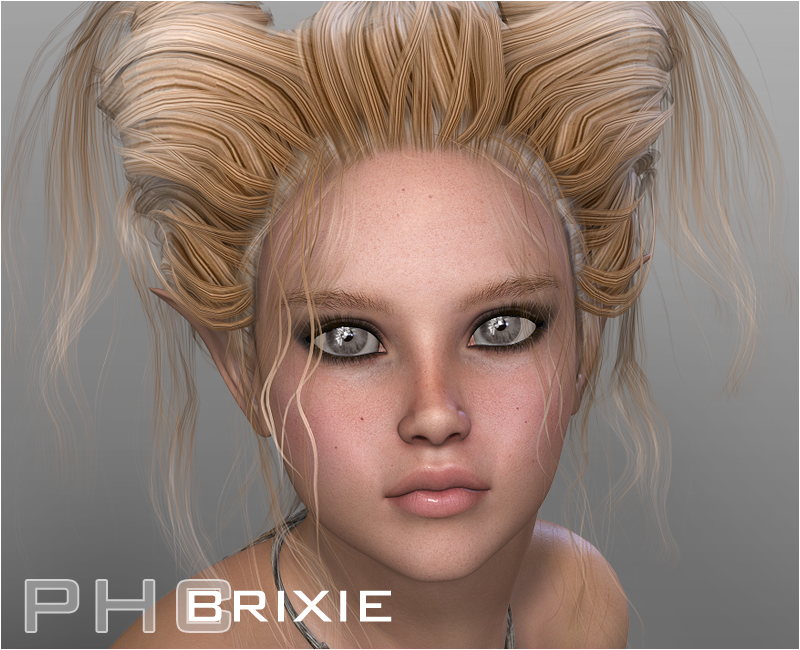 PHC: Brixie hair