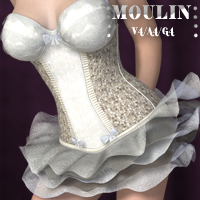Moulin V4-A4-G4 3D Figure Essentials nikisatez