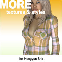 MORE Textures & Styles for Hongyus Shirt Themed Clothing motif