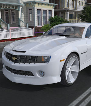 2009 Chevy Camaro 3D Models DreamlandModels