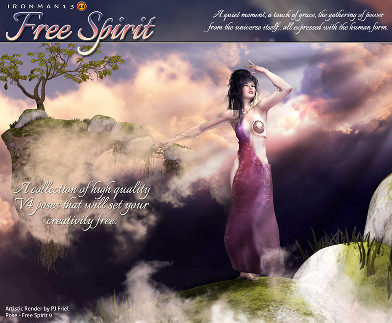 i13 FREE Spirit Pose Collection for V4