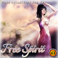 i13 FREE Spirit Pose Collection for V4 Poses/Expressions Themed ironman13