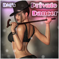 DM's Private Dancer Themed Software Props/Scenes/Architecture Poses/Expressions Danie