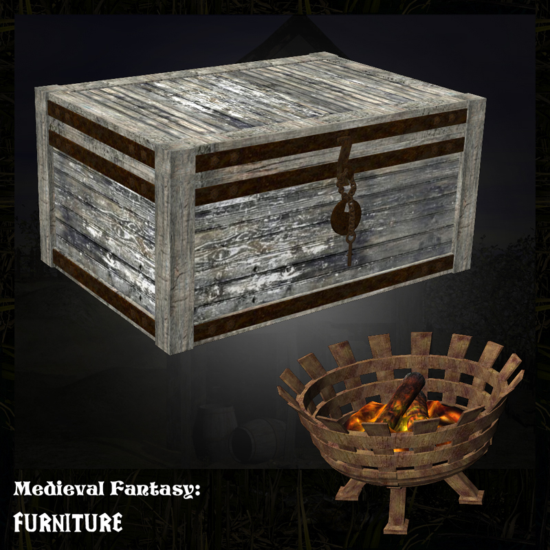 Medieval Fantasy Furniture