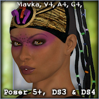 The Priestess Hair Software Themed Hair -Wolfie-