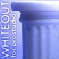 WHITEOUT: for ProStudio 3D Figure Essentials 3D Models Lights OR Cameras Synthetic