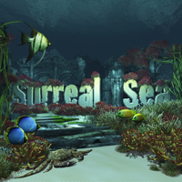 Surreal Sea 2D 3D Models Bloem