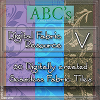 ABC's Digital Fabric Resource V  Bez
