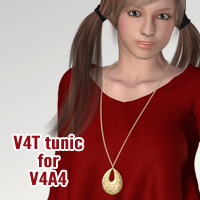 V4T tunic for V4A4 Accessories Software Clothing kobamax