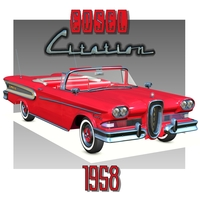 EDSEL CITATION CONVERTIBLE 1958 ( for Poser ) by Nationale7