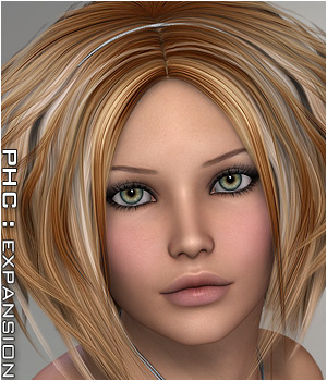 PHC: KiriTe II Themed Hair P3D-Art