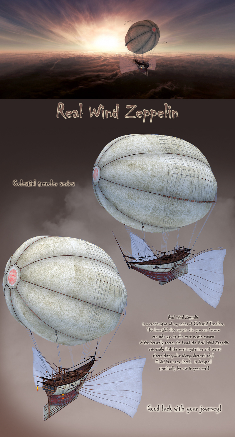 Real Wind Zeppelin