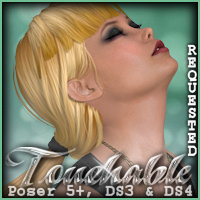 Touchable Hr-090 Hair Themed -Wolfie-