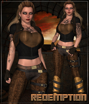 REDEMPTION for Badlands Sirena Clothing Themed Anagord