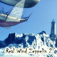 Real Wind Zeppelin 2 Themed Software Transportation 1971s