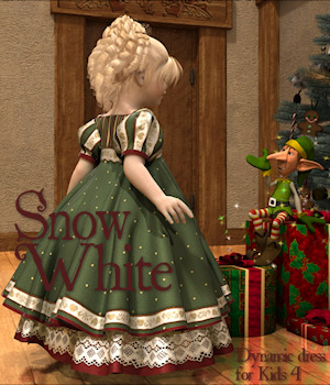 Snow White for kids4 Clothing Themed Software Tipol