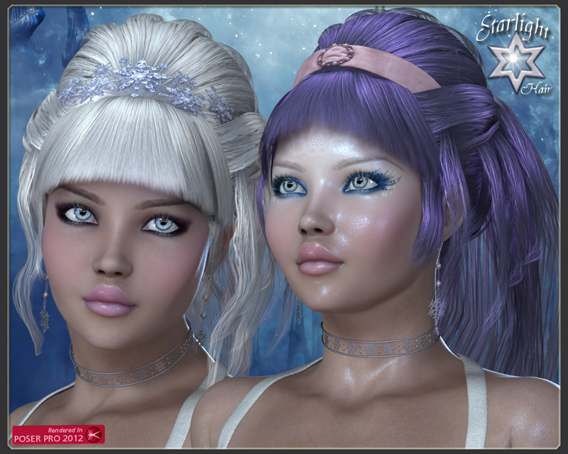 Starlight Hair for V4