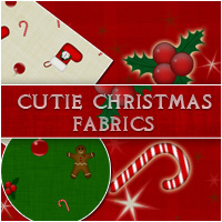 Cutie Christmas Fabrics 2D Merchant Resources lilflame