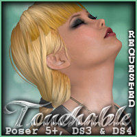 Touchable Hr-091 Themed Hair -Wolfie-