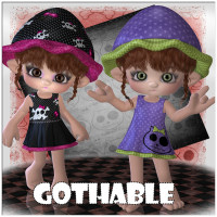 Gothable Themed Clothing Software JudibugDesigns