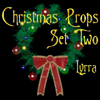 Christmas Props: Set2 3D Models Lyrra