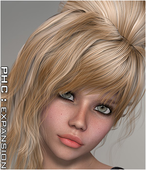 PHC: Lumen Hair Themed Hair Software P3D-Art