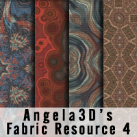 Angela3D Digital Fabric Resource - Set 4 2D And/Or Merchant Resources Angela3D