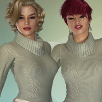 Mixed Styles - for TurtleNeck Style2 image 7