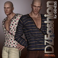 DZ SultanTop for Genesis 3D Figure Essentials dzheng
