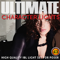 i13 ULTIMATE CHARACTER LIGHTS Props/Scenes/Architecture ironman13