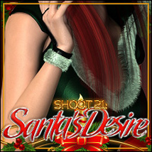 SHOOT 21: Santa's Desire 3D Figure Essentials 3D Models ShanasSoulmate