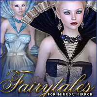Fairytales for Mirror Mirror 3D Figure Assets Sveva