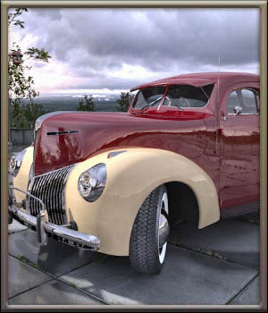 1939 Ford Coupe Software Themed Transportation Props/Scenes/Architecture DreamlandModels