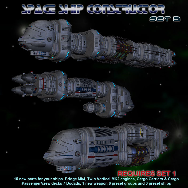 Space Ship Constructor Set 3