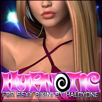 Hypnotic for Sexy Bikini 3D Figure Assets ShanasSoulmate