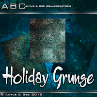 ABC Holiday Grunge  Bez
