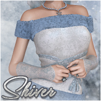 Shiver 3D Figure Essentials Silver