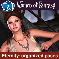 Eternity Organized Poses For V4 3D Figure Assets EmmaAndJordi