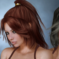 Cora Hair for V4 image 2