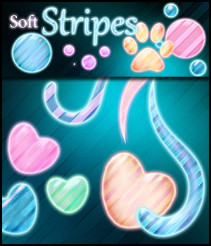 Soft Stripe Styles 2D Graphics antje