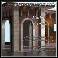 FiddleFaddle's Marble Shaders 2D 3D Figure Essentials 3D Models FiddleFaddle