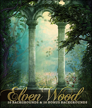 The Elven Wood 2D Sveva