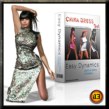 EASY DYNAMICS China Dress 3D Figure Assets ironman13
